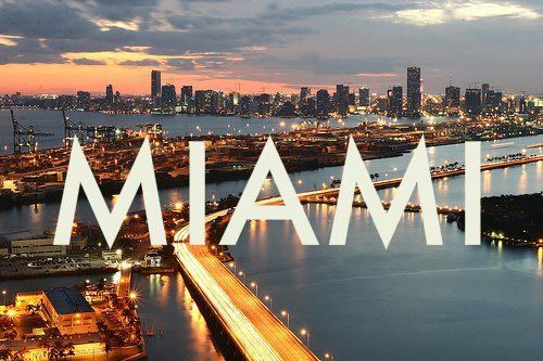 Miami. Amazing place.
