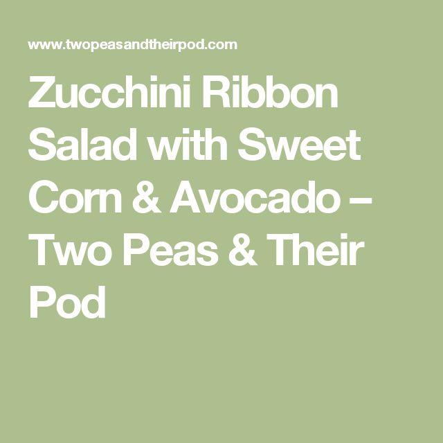 17 Best ideas about Zucchini Ribbon Salad on Pinterest ...