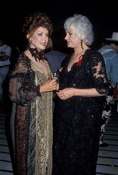 bea arthur 47th tony awards | Ellen Burstyn and Bea Arthur during 47th Annual Tony Awards at ...