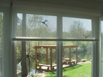 Recent Projects eclectic roller blinds