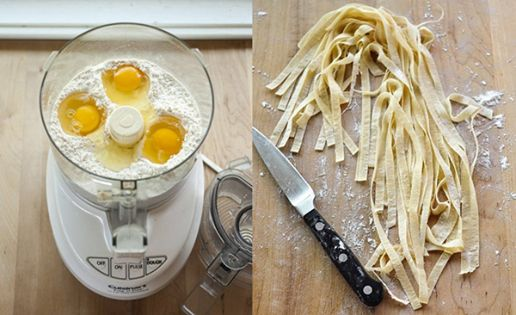 Easy Homesteading: Recipe: How To Make Fresh Pasta Dough in a Food Processor