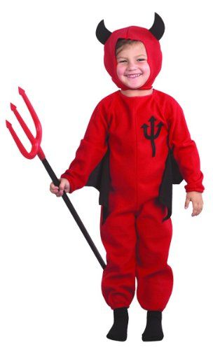 Halloween Devil costume for boys – 3 to 4 years/ Toddler-Small