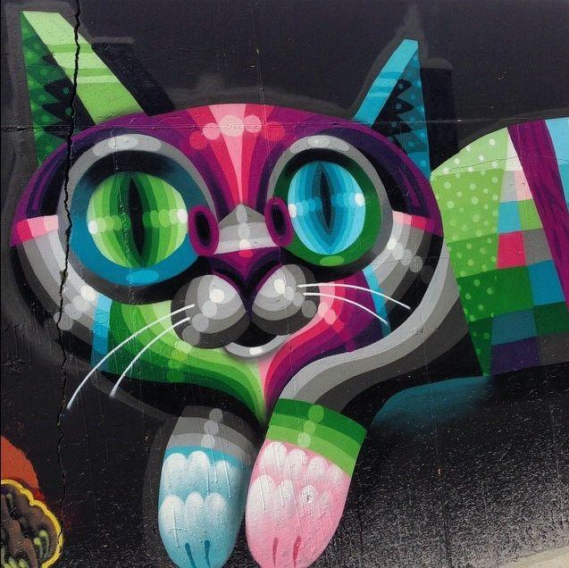Eelco Virus kitty detail. (LP)