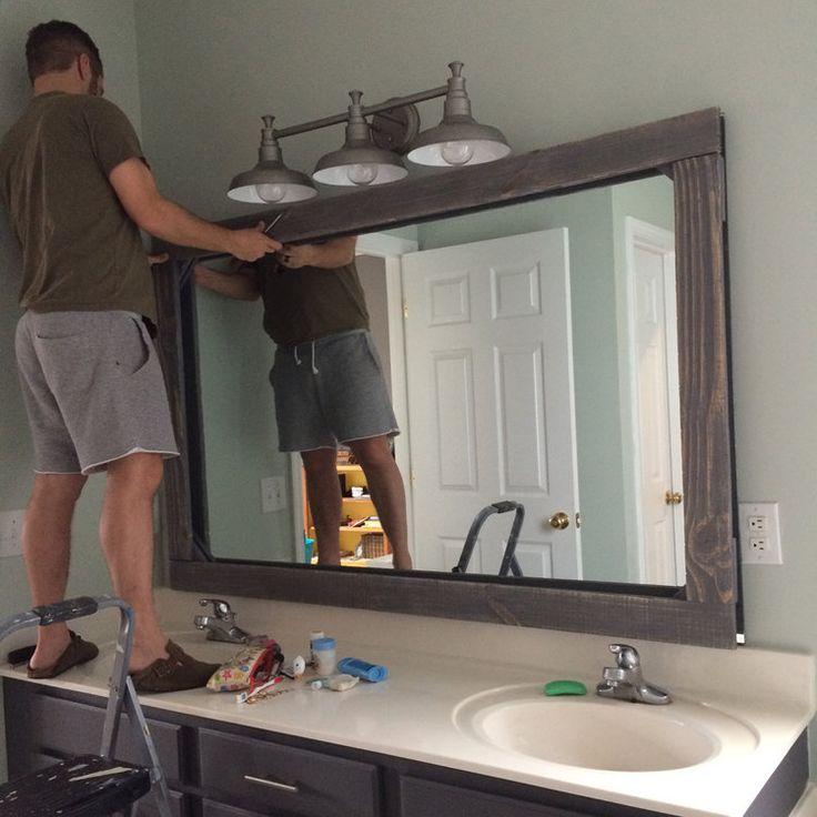 Bathroom Mirrors Diy, Bathroom And Bathroom