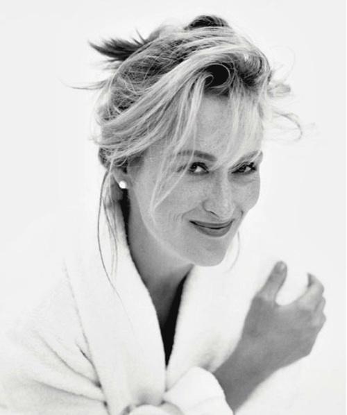 Meryl Streep by Brigitte Lacombe: