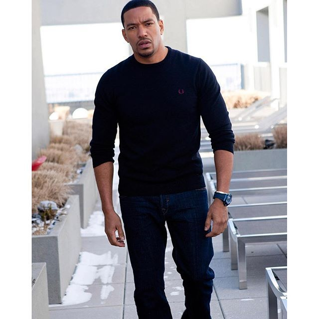 my bae and baby daddy Laz Alonso