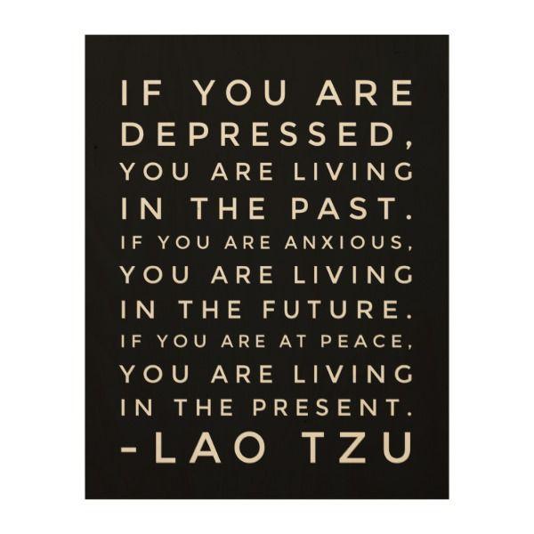 Lao Tzu Chinese Taoism Philosophy Quote Wood Wall Art Zazzle Com