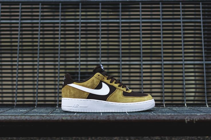 Nike Air Force 1 Golden TAN Impresiona con estas zapatillas #zapatillas #nike #tenis2015 #zapatillastendencia #tendencia2015
