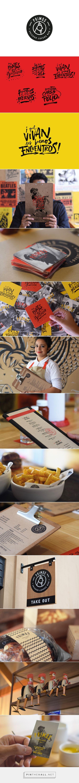 Primos Los amantes del pollo restaurante Branding y Diseño Menú de Paloma Nieri |  Agencia de Branding Fivestar - Diseño y la Agencia de Branding & Inspiration Gallery Curada