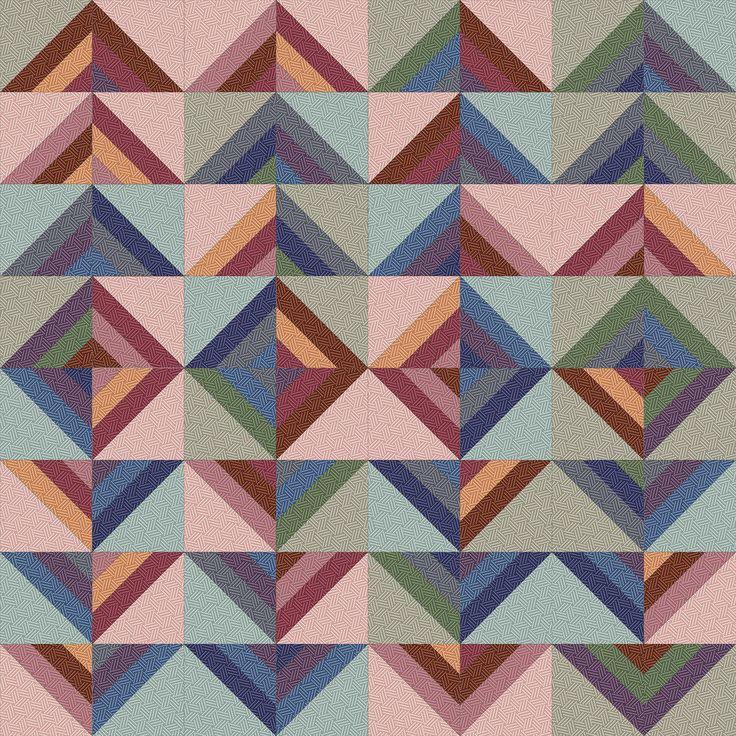 Hadleigh Roman Stripe Quilt idea 3