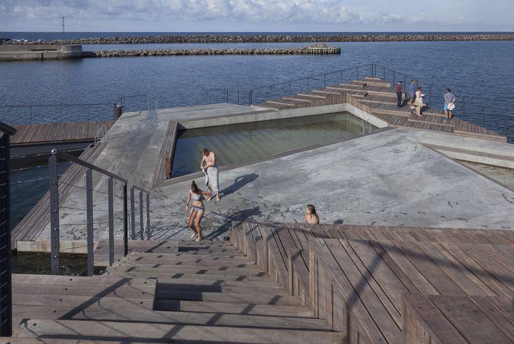 Hasle Harbour Bath / White