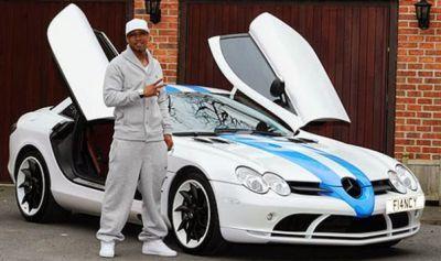 El Hadji Diouf footballer – Mercedes-Benz SLR McLaren car