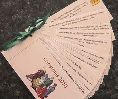 Free Homeschool Printables: Christmas Activities Countdown Booklet
