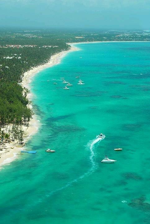 El Cortecito. Playa Bavaro, en Punta Cana. Republica Dominicana—