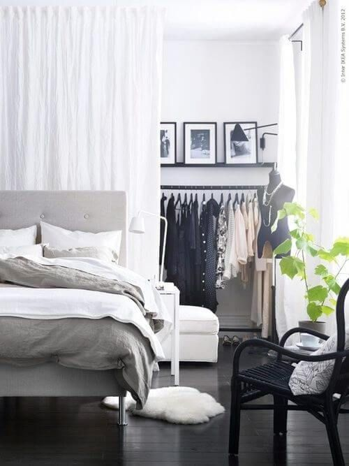 how to reclaim lost space with a walk-through wardrobe | @meccinteriors | design bites | #bedroom #walkthroughcloset