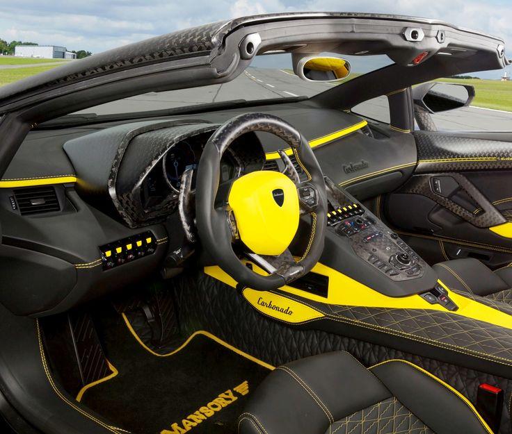Mansory Lamborghini Aventador Carbonado Roadster