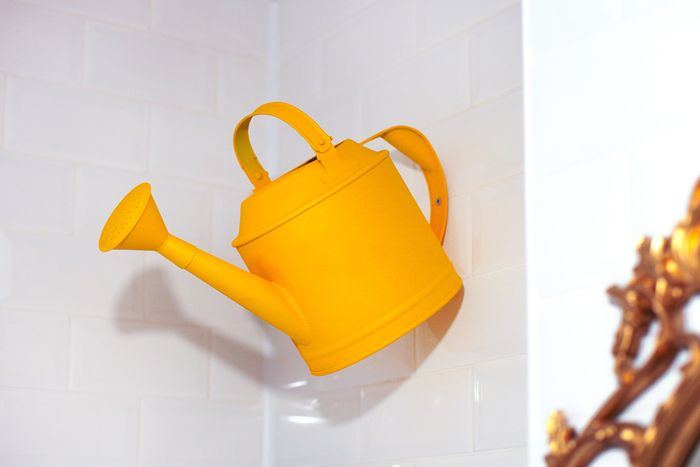 bathroom, wow, yellow, watering can, shower