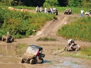 The park was formed in 2008 and is a continuing development between state and local officials, dedicated individuals, and great, enthusiastic clubs like the Holler Crawlers ATV Club. Today there are over 120 miles of trail already in use in the park with much more to come. The Holler Crawlers club does much more than builds trails, however; consider the club an Off-Road entertainment organization