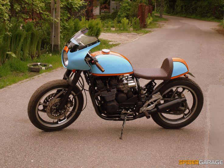 Yamaha xj600  cafe racer gulf