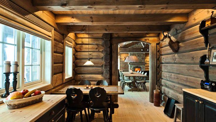 vakker tømmerhytte - Google Search