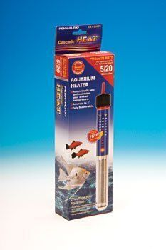 CascadeÃ'Â HeatÃ'Â 7 Aquarium Heater 25 Watt for 5 Gallon Tanks by Penn-Plax