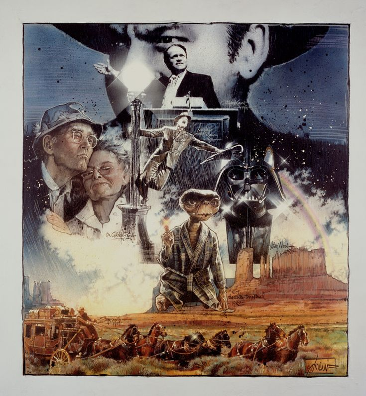 George Who Founded Industrial Light And Magic: 146 Best Images About Art Of Drew Struzan
