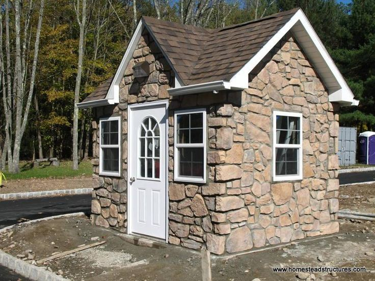 Best 25 victorian sheds ideas on pinterest for Stone garden shed designs