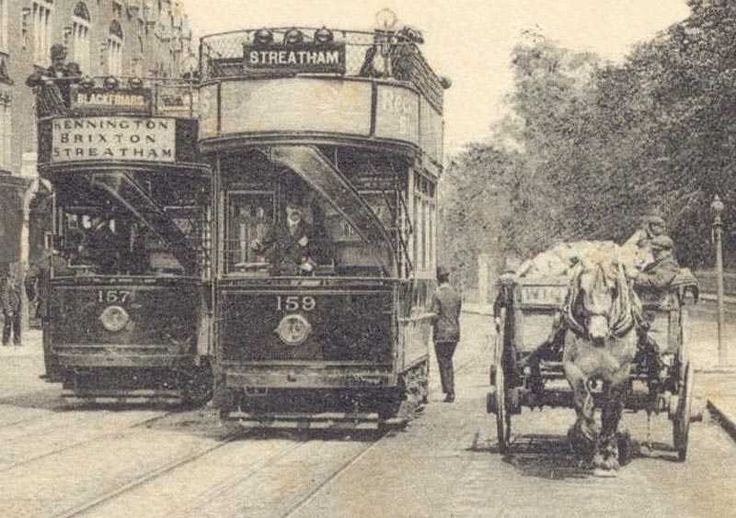 Old time London. I love this pic...