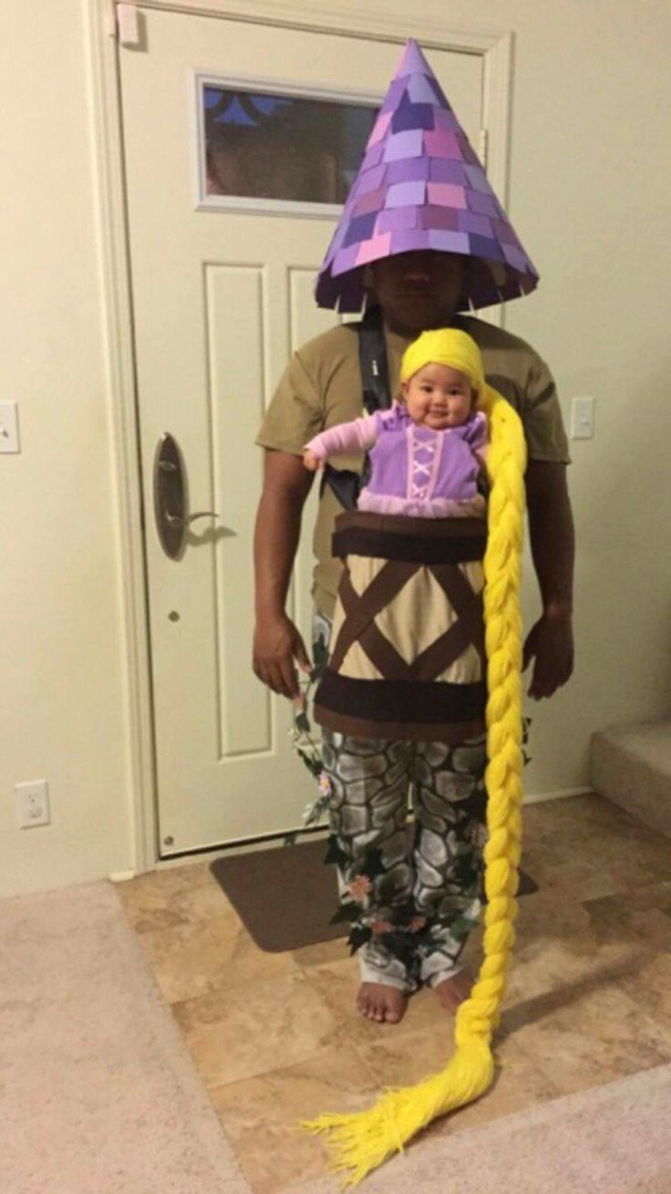 Too cute❤️ Rupunzel and her tower