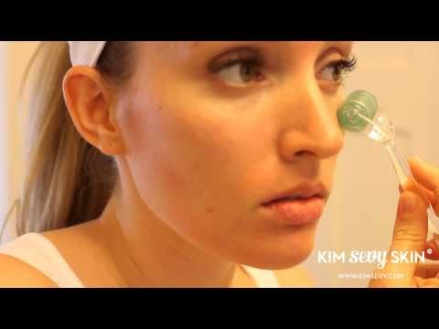 Home Use Dermaroller Demo and Technique ( Micro Needling ) - YouTube