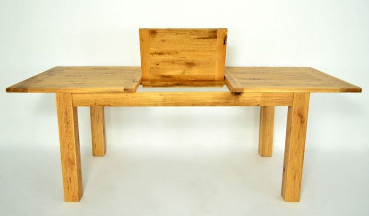 solid oak extendable Table -Madrid