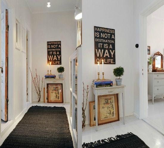 Meer dan 1000 idee n over hal decoraties op pinterest for Interieur ideeen gang