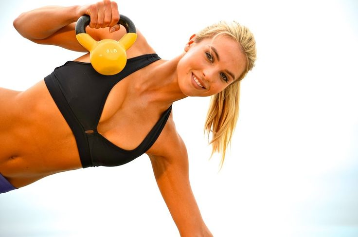 60 min Beginner Total Body Kettle Bell Workout