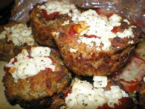 Italian Mini Meatloaf recipe