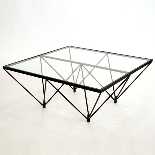 ガラステーブル ロータイプ 80cm角型 ( 送料無料 セン… [楽天] #Rakutenichiba