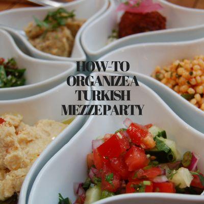 How-to een Turkse mezze party organiseren