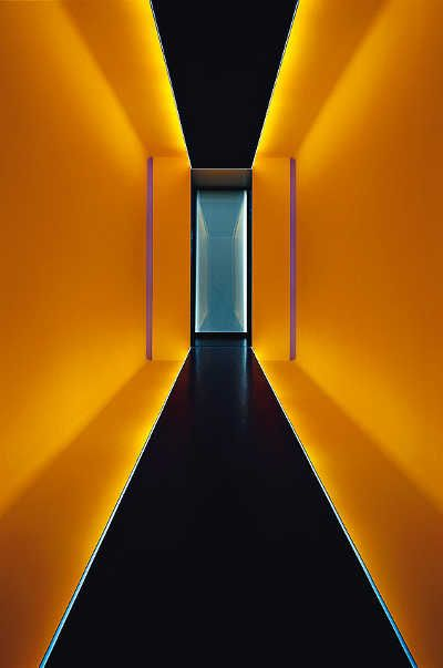 National Gallery of Australia - James Turrell – Pella Passage, 2005 (Photo by Florian Holzherr)