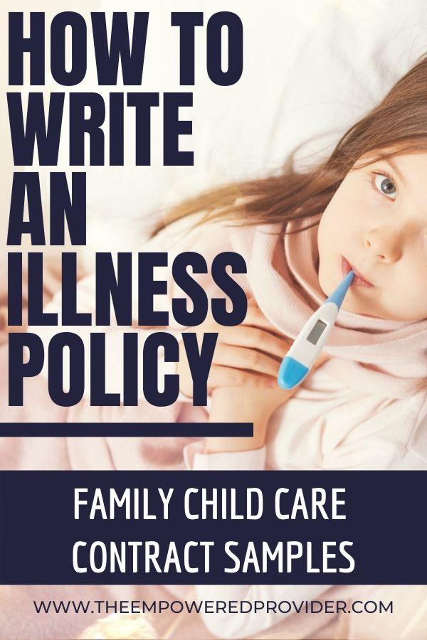 Day Care Sick Policy: How to Make Sense of it All (2020 ...