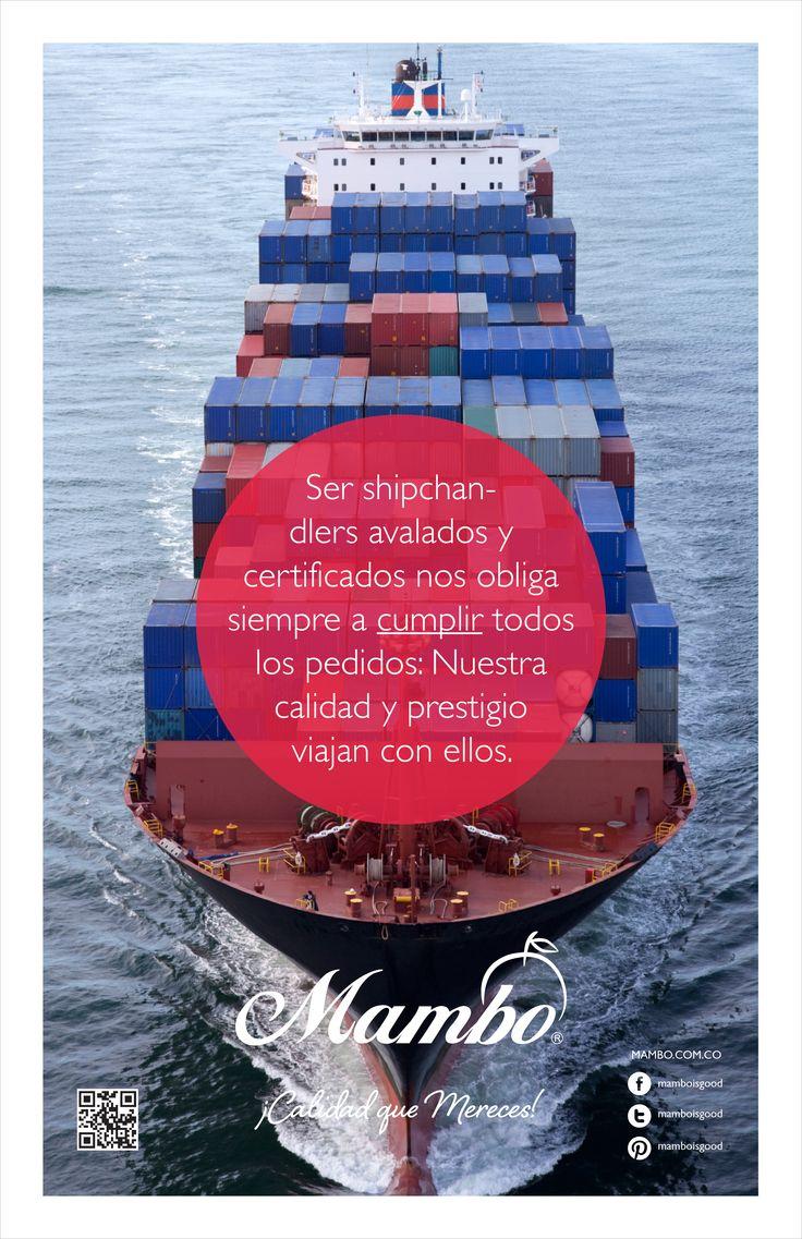 Somos shipchandler - operadores portuarios www.mambo.com.co Frutas y verduras Mambo Cartagena de Indias - Colombia
