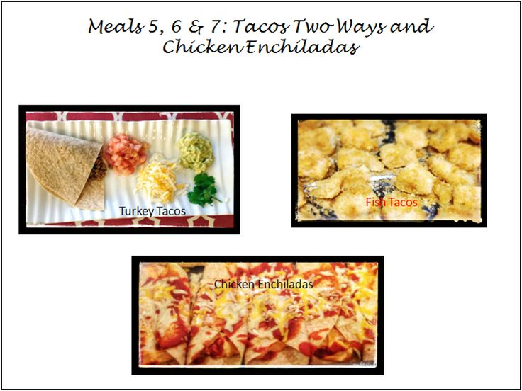 Post image for 30 Meal Challenge: (Meals 5-7) Two Type of Tacos and Chicken Enchiladas
