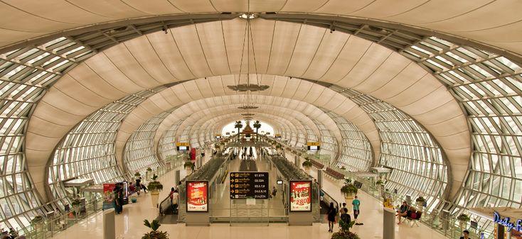 aeroporto internacional suvarnabhumi tailandia