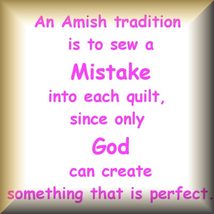 An Amish Tradition