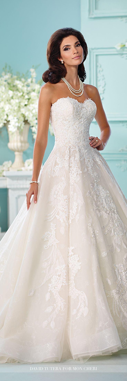 Lace Wedding Dress Not Strapless – fashion dresses