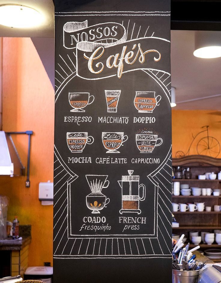 Prestinaria Chalkboards on Behance  by Cyla Costa