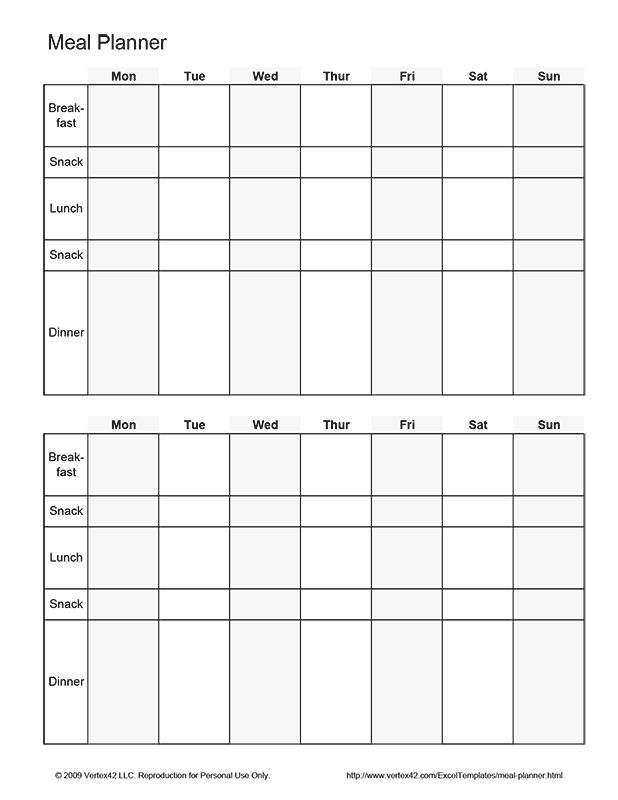 Best 25+ Meal planner template ideas on Pinterest Meal planning - food journal template free