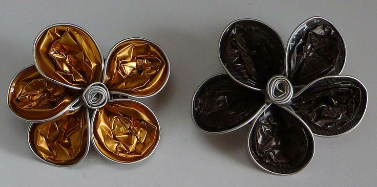 El mundo de Mara: Broche con cápsulas Nespresso