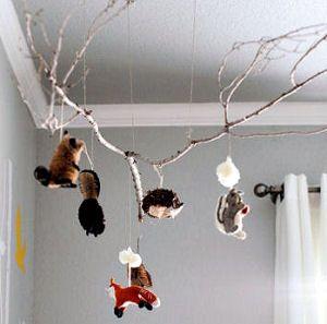 Deer Themed Nursery Ideas - DIY Whitetail Deer Forest Theme Decorations