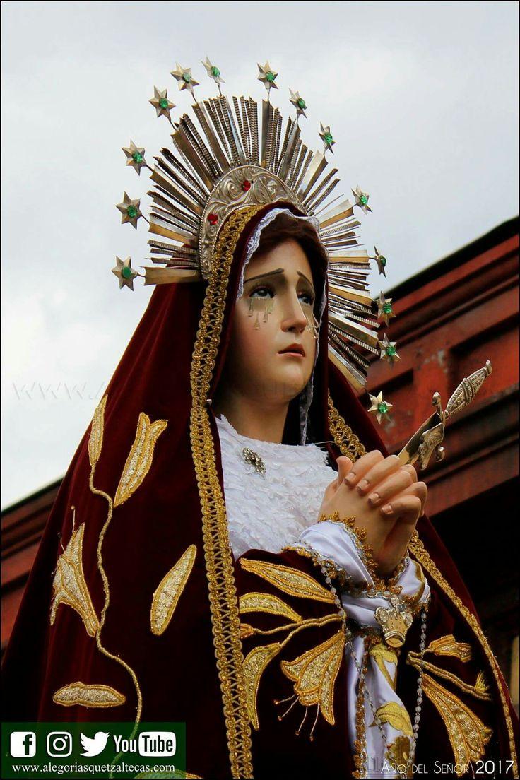VIRGEN DE DOLORES DE JUSTO JUEZ, SANTA IGLESIA CATEDRAL METROPOLITANA DE LOS ALTOS, QUETZALTENANGO Guatemala