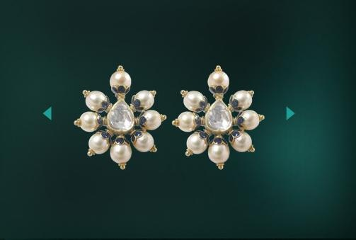 Simply love these.  Earrings by Roopa Vohra, Indian Jewellery Designer. www.roopavohra.com