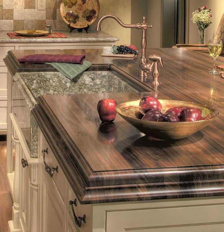25 best ideas about wood countertops on pinterest wood for Best counter top material
